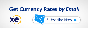 Xe forex rates india