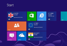 XE Currency App for Windows 8, screencap 1