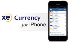 XE Currency App for iPhone