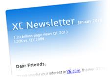XE Newsletter
