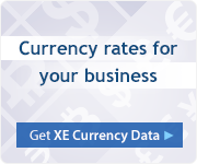 Get currency rates for your business